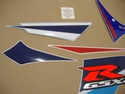 Suzuki GSXR 750 2007 white labels graphics