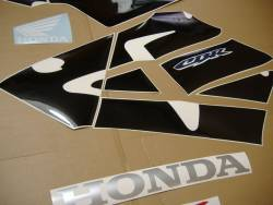 Honda 600RR 2003 red logo graphics