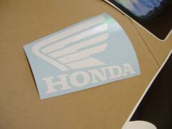 Honda CBR 600RR 2003 red decals kit