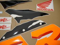 Honda 919RR 1999 SC33 green decal set