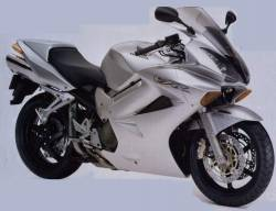 Honda 800i 2002 silver complete sticker kit