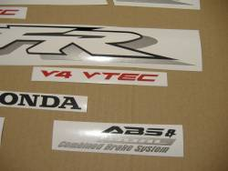 Honda VFR 800i 2002 RC46 silver stickers kit