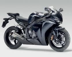 Honda CBR 1000RR 2009 black adhesives set