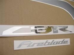 Honda CBR 1000RR 2009 black stickers kit
