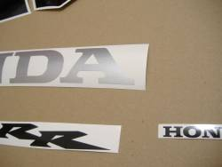 Honda CBR 600RR 2005 red adhesives set