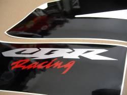 Honda CBR 600RR 2005 silver adhesives set