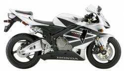 Honda 600RR 2005 silver labels graphics