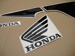 Honda CBR 600RR 2005 silver stickers kit