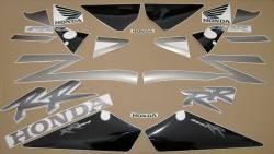 Honda 954RR 2002 SC50 titanium labels graphics