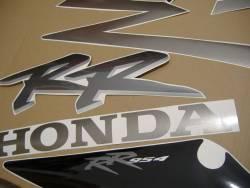 Honda 954RR 2002 grey complete sticker kit