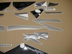 Honda 954RR 2002 SC50 titanium stickers set