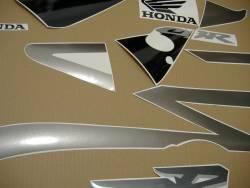 Honda CBR 954RR 2002 Fireblade grey stickers
