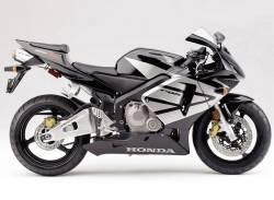 Honda 600RR 2004 black labels graphics