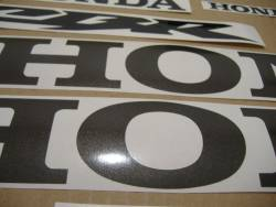 Honda 600RR 2003 yellow stickers set