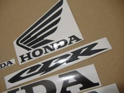 Honda 600RR 2003 yellow decals