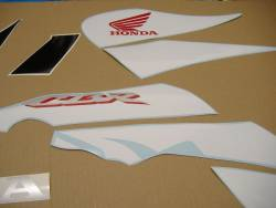 Honda 125R 2007 blue reproduction stickers