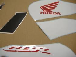 Honda 125R 2007 blue complete sticker kit