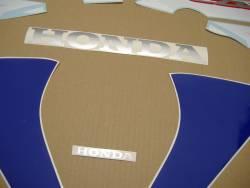 Honda 125R 2007 blue labels graphics