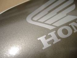 Honda 125R 2008 black stickers set