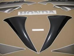 Honda 125R 2008 black reproduction decals