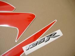 Honda 125R 2009 black logo graphics