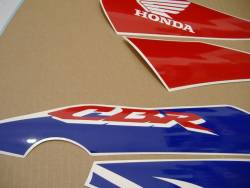 Honda 125R 2009 HRC labels graphics
