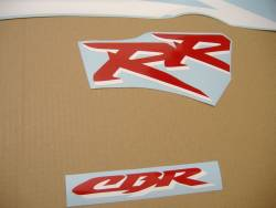 Honda 954RR 2003 SC50 white stickers set