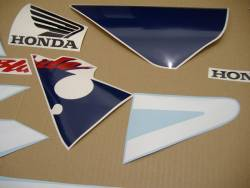 Honda 954RR 2003 Fireblade white labels graphics