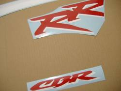 Honda CBR 954RR 2003 SC50 white decals kit