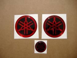 yamaha 3d tank gel silicone emblems decals badges r1 r6