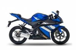 Yamaha R125 2009 blue US stickers kit