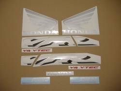 Honda 800i 2002 RC46 black decal set