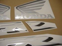 Honda VFR 800i 2002 RC46 black stickers kit