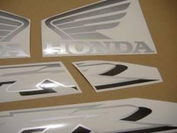 Honda 800i 2002 blue full decals kit