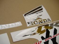 Honda 1000XX 1997 SC35 grey full decals kit