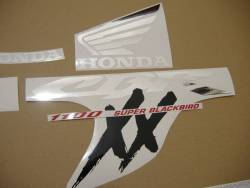 Honda 1000XX 1997 SC35 grey decals set