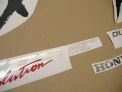 Honda 1000XX 1997 SC35 grey complete sticker kit