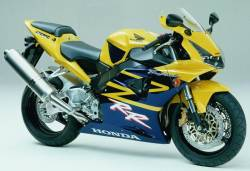 Honda CBR 954RR 2003 Fireblade yellow stickers