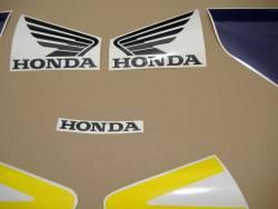 Honda CBR 954RR 2003 yellow adhesives set