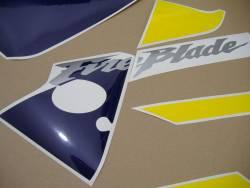 Honda 954RR 2003 yellow full decals kit