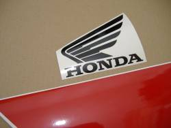 Honda CBR 600 F4 2004 red stickers