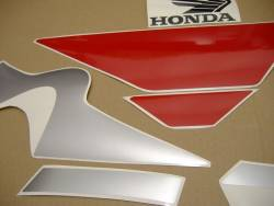 Honda cbr 600 f4i 2004 red complete graphics set