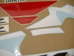 Honda 600 F4i 2001 white complete sticker kit
