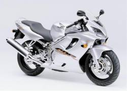 Honda CBR 600 F4 1999 silver decals kit