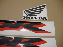 Honda CBR 600 F4 1999 silver labels graphics