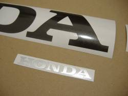 Honda 1000RR 2005 Fireblade blue logo graphics