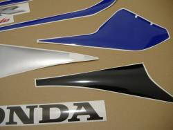 Honda CBR 1000RR 2005 blue stickers kit