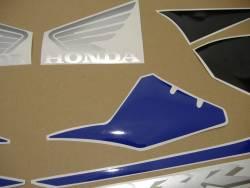 Honda 1000RR Fireblade 2005 blue EU stickers