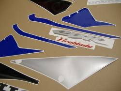 Honda 1000RR 2005 blue EU complete sticker kit