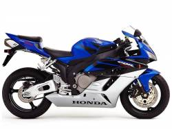 Honda 1000RR 2005 blue EU full decals kit